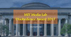 disobedience award
